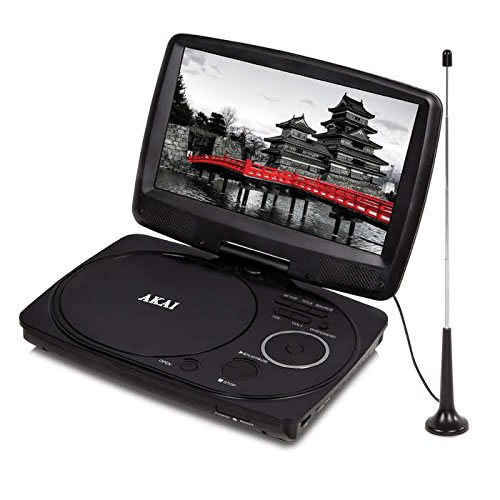 Portable Tv With Freeview And Dvd Portable Toddler Travel Bed Portable Public Urinal Portable Satellite Tv Near Me: Akai 10 Inch Portable DVD Player (Model No. A51003) NEW