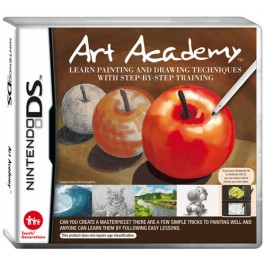 Art Academy: Learn Painting and Drawing Techniques with Step-by-Step Training Nintendo DS