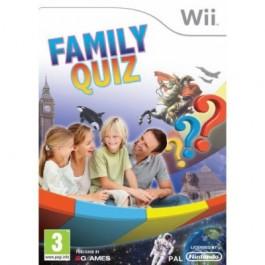 Family Quiz Nintendo Wii