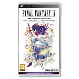 Final Fantasy IV The Complete Edition (PSP)