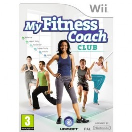 Fitness Coach Club with Wii Camera Nintendo Wii