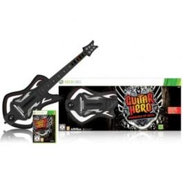 Guitar Hero 6 Warriors of Rock Guitar Bundle Xbox 360