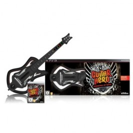 Guitar Hero 6 Warriors of Rock Guitar Bundle Playstation 3 PS3