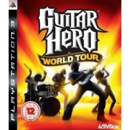 Guitar Hero 4 World Tour Only PS3