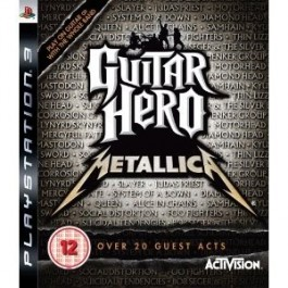 Guitar Hero Metallica Only PS3
