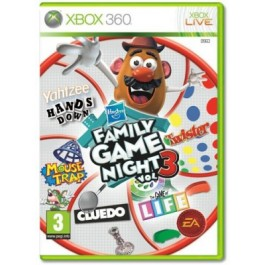 Hasbro Family Night 3 Xbox 360