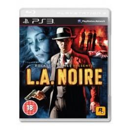 L.A. Noire PlayStation 3 PS3