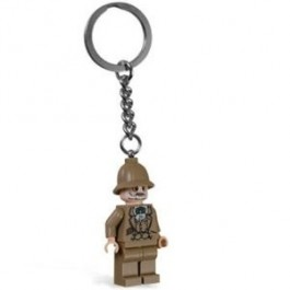 Lego Professor Henry Jones Key Chain (Minifig keyring)