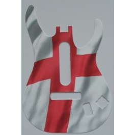 Limited edition England Flag Guitar Faceplate for Xbox 360 or PS3