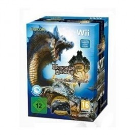 Monster Hunter Tri with Classic Controller Pro Nintendo Wii