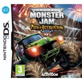 Monster Jam Path of Destruction Nintendo DS