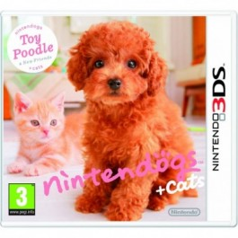 Nintendogs + Cats - Toy Poodle + New Friends Nintendo 3DS