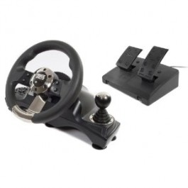 Datel Power Racer 270 Wireless Racing Wheel Xbox 360