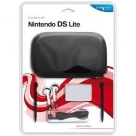 Blue Ocean Accessories Black Starter Pack for DS Lite Nintendo DS