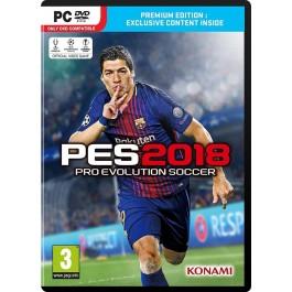 PES 2018 Pro Evolution Soccer Premium Edition PES18 PC DVD Game