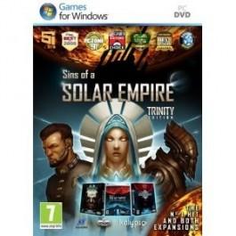 Sins of a Solar Empire Trinity Edition PC DVD  Windows Vista