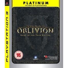 The Elder Scrolls IV: Oblivion - of the Year - Platinum PS3