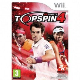 Top Spin 4 Nintendo Wii