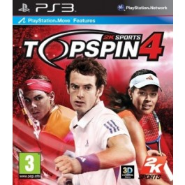 Top Spin 4 PlayStation 3 PS3