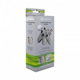 Twin Xbox Controllers Charge Dock  with 2 Recharageable Batteries Xbox 360