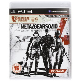 Metal Gear Solid 4  25th Anniversary Edition Sony PS3