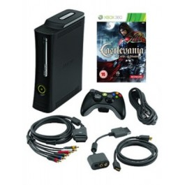 Xbox 360 Elite 120GB and Castlevania Lords Of Shadow
