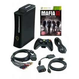 Xbox 360 Elite 120GB Console and Mafia 2 Collector's Edition