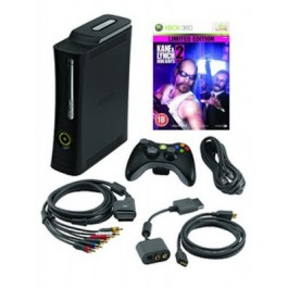 Xbox 360 Elite 120GB Console with Kane and Lynch 2 Dog Days