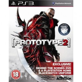 Prototype 2 Radnet Limited Edition with Exclusive Unlock Bullet Dive Sony PS3
