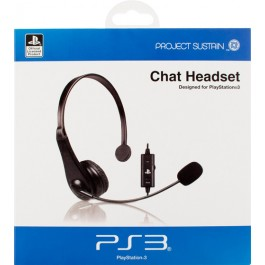 Venom Licensed Sony Chat Headset for Sony PS3