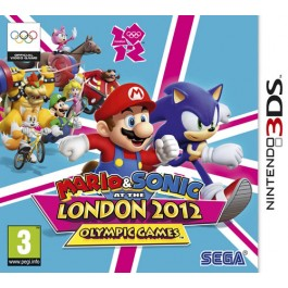 Mario and Sonic at the London 2012 Olympics Nintendo 3DS