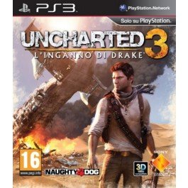 Uncharted 3 Drake's Deception Sony PS3