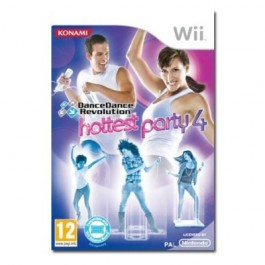 Dance Dance Revolution Hottest Party 4 Only Nintendo Wii