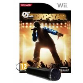 Def Jam Rapstar with Microphone Nintendo Wii