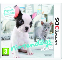 Nintendogs + Cats - French Bulldog + New Friends Nintendo 3DS
