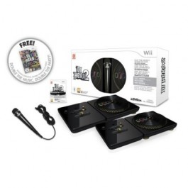 DJ Hero 2 - Party  and Turntable Bundle Nintendo Wii