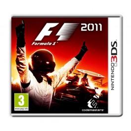 Formula 1 Nintendo DS3 F1 2011 3DS