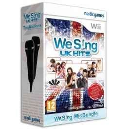 We Sing UK Hits with Two Mics Nintendo Wii