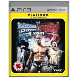 WWE Smackdown Vs Raw 2011 Platinum Sony PS3