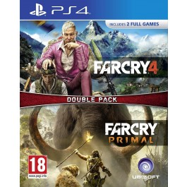 Far Cry Primal and Far Cry 4 PS4 Game