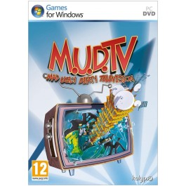M.U.D TV Mad Ugly Dirty Television Video Game PC