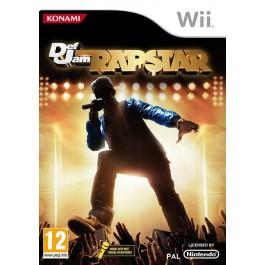 Def Jam Rapstar  only Nintendo Wii