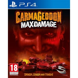 Carmageddon Max Damage PS4 Game with BONUS Pre-Order Content