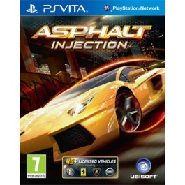 Asphalt Injection Driving Game PS vita