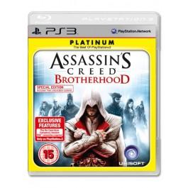 Assassins Creed Brotherhood Platinum PS3