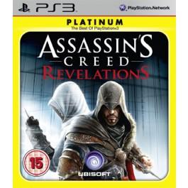 Assassins Creed Revelations Platinum Edition PS3