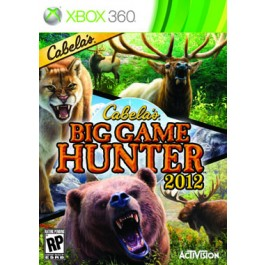 Cabelas Big Hunter 2012 Xbox 360