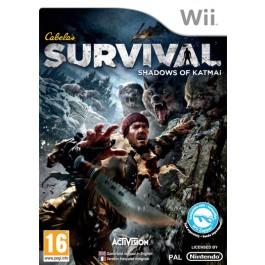 Cabelas Survival Shadows of Katmai only Nintendo Wii