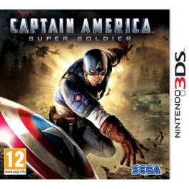 Captain America Super Soldier Nintendo 3DS
