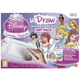 uDraw Tablet with Disney Princess and uDraw Studio Nintendo Wii